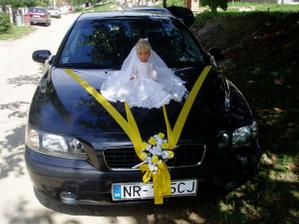 Svadobné auto...