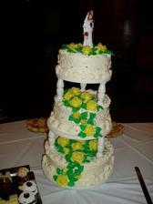 ...naša svadobná tortička ...