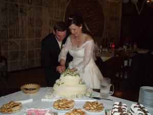 ... krájanie torty