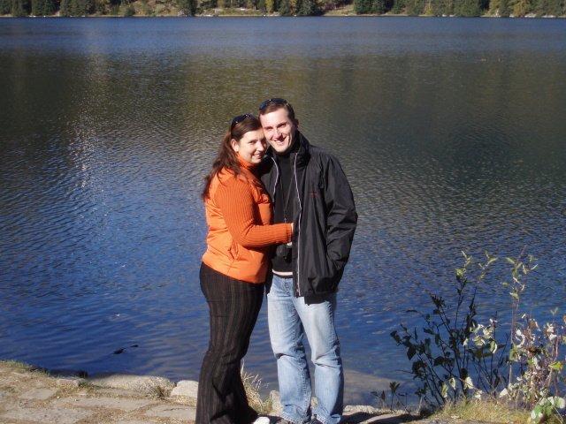 Klaudia Kravárová{{_AND_}}Štefan Molnár - To sme mi po roku manželstva v Tatrách. Bolo tam kráááásne síce krátko!!!