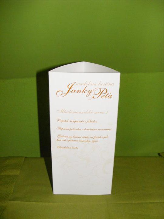 J@P 10.09.2011 - naše svadobné menu na stoly