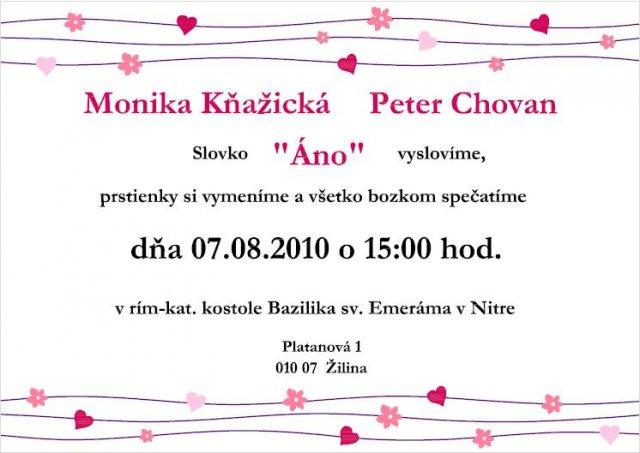 Monicska a Petusko 07.08.2010 - nase krasne vlastnorucne robene :))))