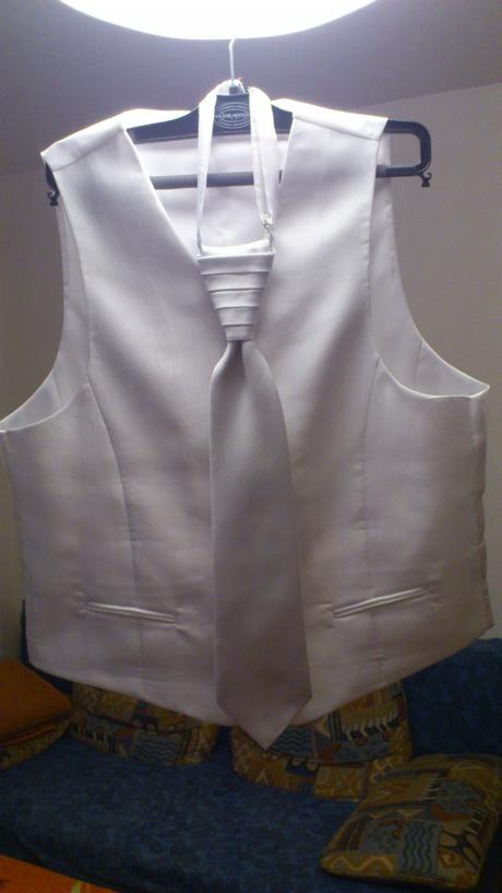 svadobna vesta č. 52, kravata, vreckovka - Obrázok č. 1