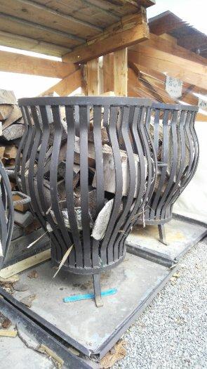 kované záhradné ohnisko 4 ks - Obrázok č. 1