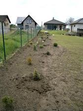 a ze zadu :D ještě není vše bude se pokračovat :D,škoda že u souseda je pořád borčus a plevel :-(