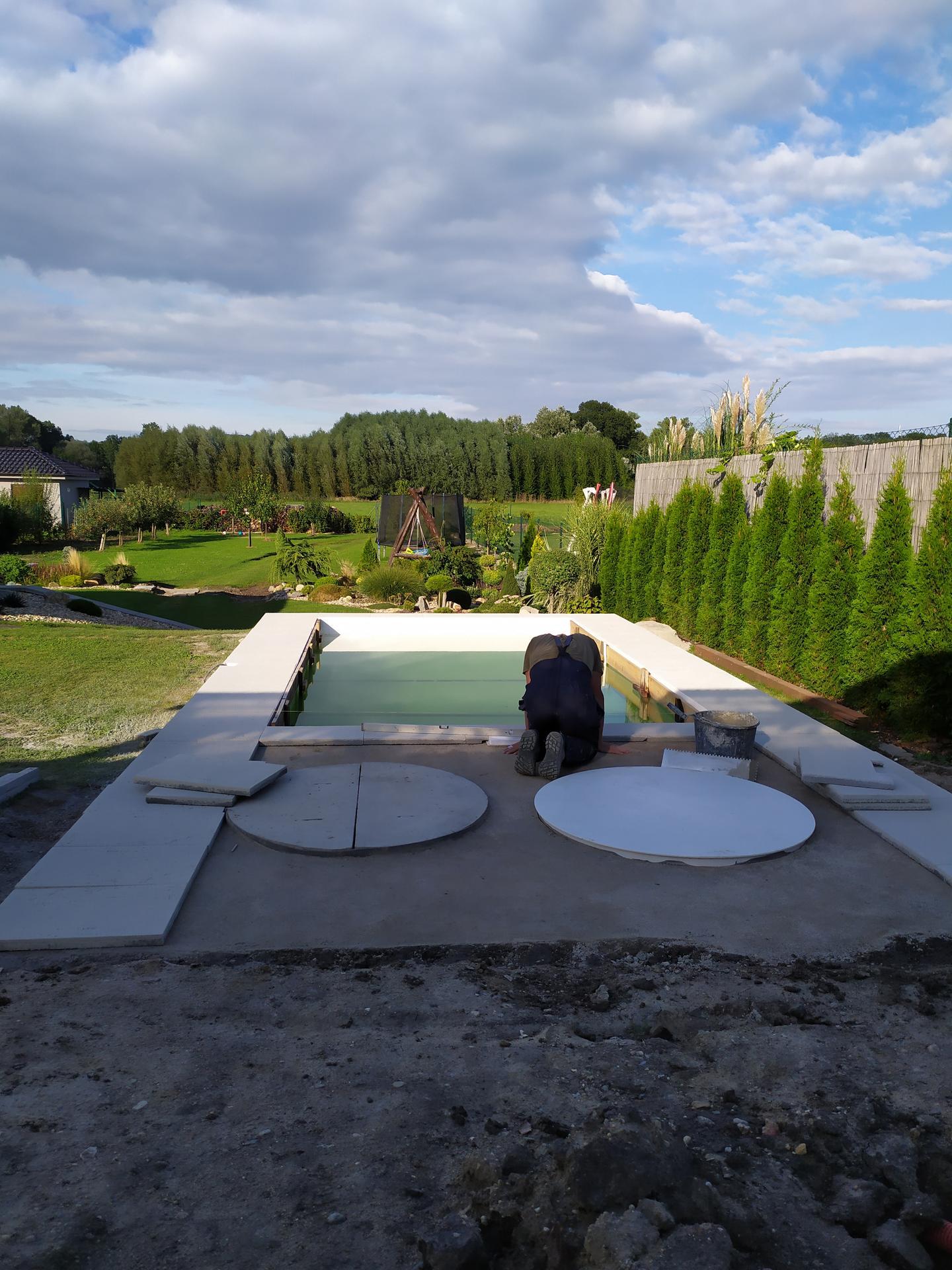 Bazén srpen 2020: doplněk naší zahrady😉 - Obrázek č. 10