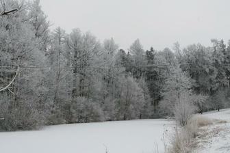 a sněhem