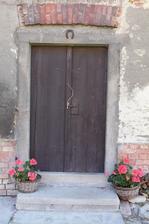 dveře do chléva