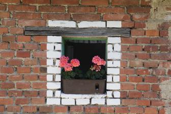 okénko do letní kuchyňky / dřív prasečák/