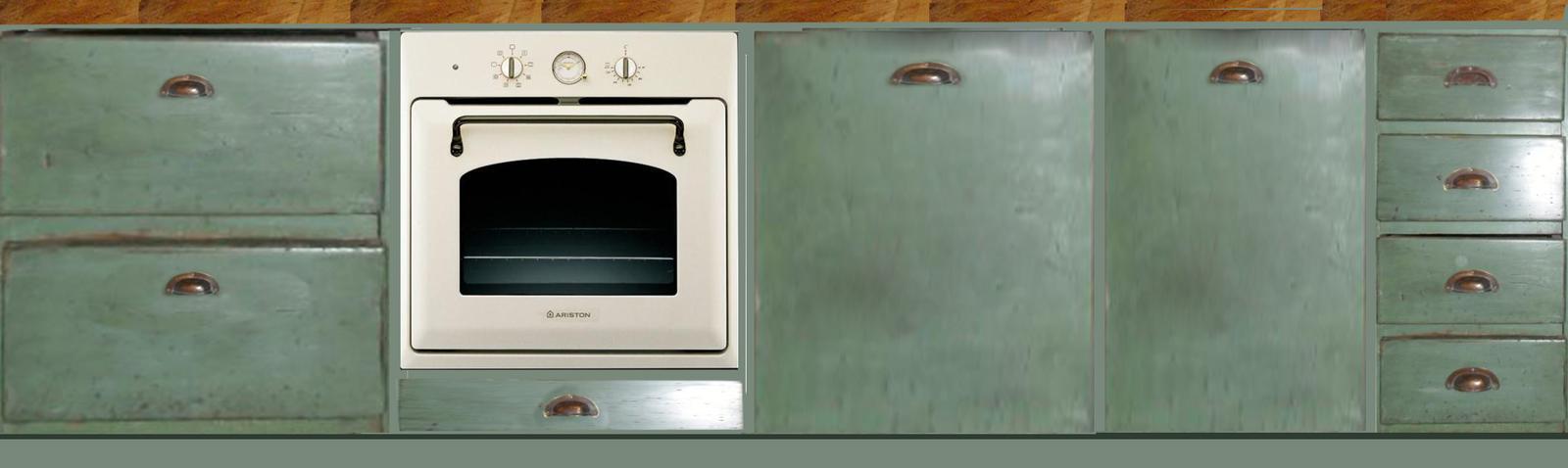 Modernizujeme kuchyňku - náčrt varianty
