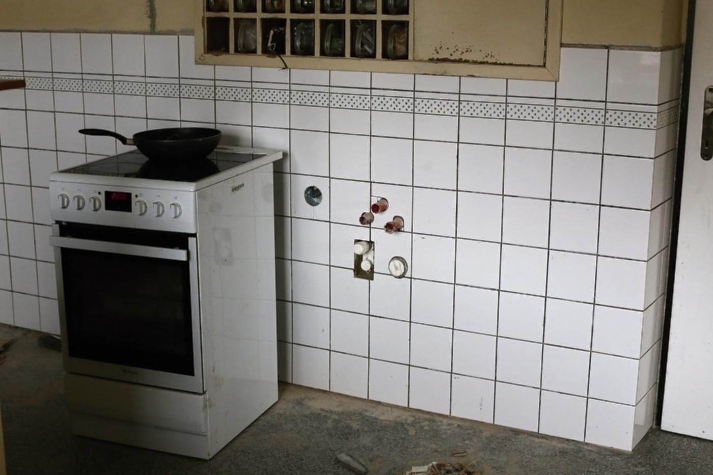 Modernizujeme kuchyňku - před spárováním