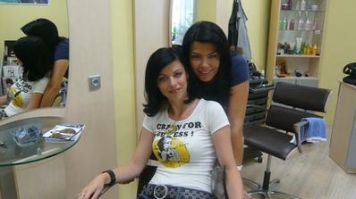 S mojí kadeřnicí:)