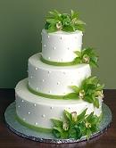 Ralfik a stelka, pomaly ale isto :) - zelena torta