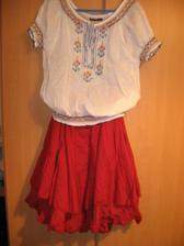suknicka a top na redovy tanec.. nieco jednoduche.. a pestre...