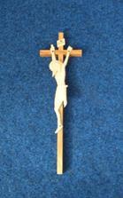 križiček na sobáš do kostola..