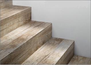 LOBOFLOORS Schodová hrana Stone edice (Concrete dlažba - beton)