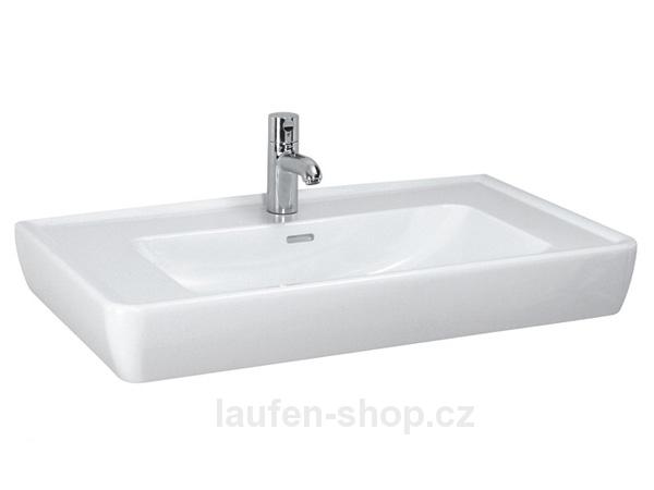 Obklady, dlažba, koupelny - Laufen-pro-a-umyvadlo-85x48cm-brousene-s-otv-bile-8.1295.6.000.104.1