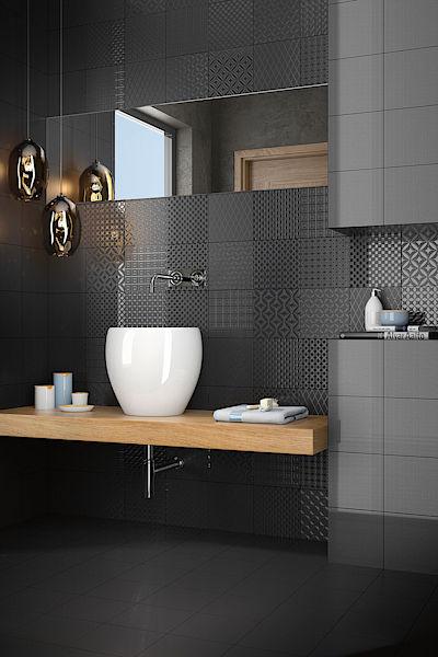Obklady, dlažba, koupelny - B&W 20x20 od CAS Ceramica