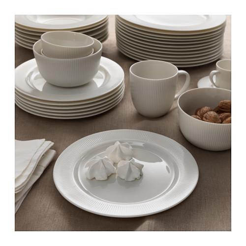 Nádobí - OFANTLIGT Ikea - není bílé, ale krémové, takže zas nic