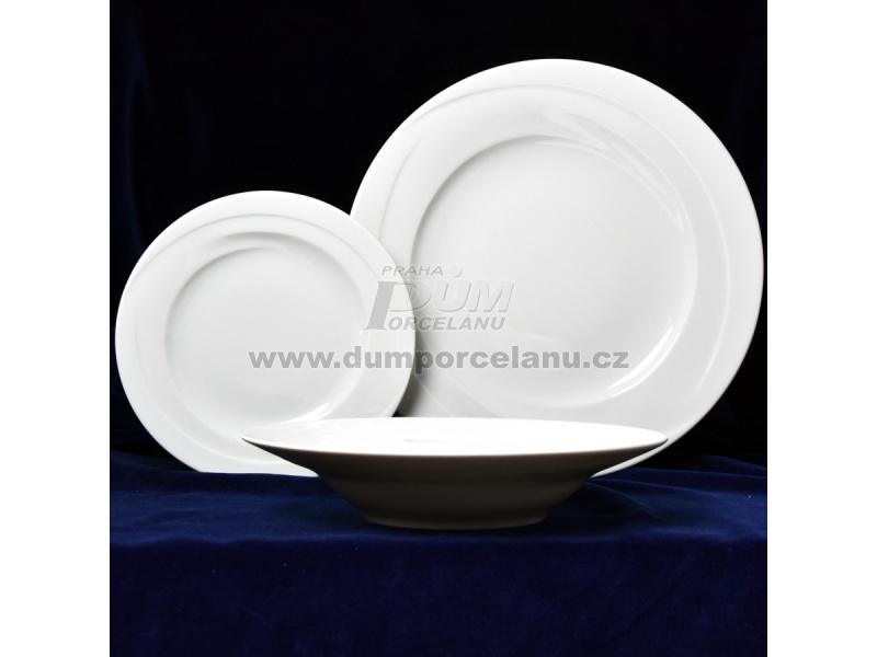 Nádobí - http://www.dumporcelanu.cz/porcelan-seltmann-monako-uni-bile/talirova-sada-pro-6-osob-monako-uni-bile-porcelan-seltmann