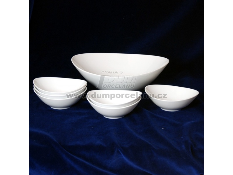 Nádobí - http://www.dumporcelanu.cz/thun-1794-karlovarsky-porcelan-novinka-loos-nedekor/kompotova-souprava-pro-6-osob-thun-1794-karlovarsky-porcelanloos-nedekor