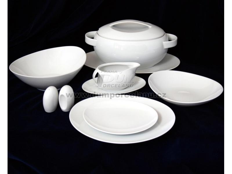 Nádobí - http://www.dumporcelanu.cz/thun-1794-karlovarsky-porcelan-novinka-loos-nedekor/jidelni-souprava-pro-6-osob-thun-1794-karlovarsky-porcelanloos-nedekor