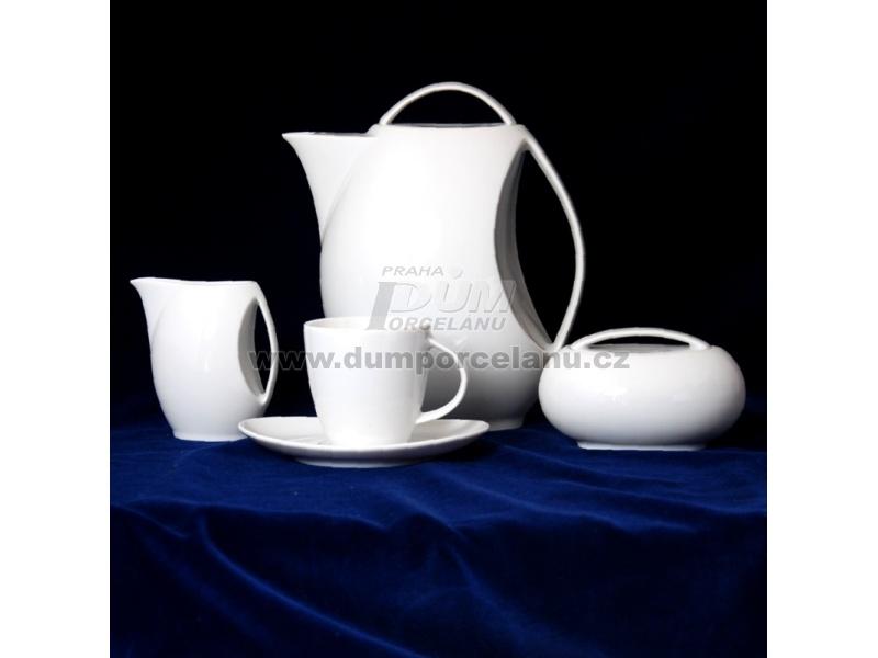 Nádobí - http://www.dumporcelanu.cz/thun-1794-karlovarsky-porcelan-novinka-loos-nedekor/kavova-souprava-pro-6-osob-thun-1794-karlovarsky-porcelanloos-nedekor