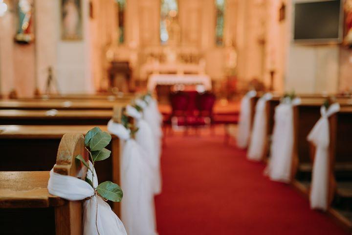 Keď sa láska podarí....❤Svadba Martina & Michaely v hoteli Senec - Kostol svätého Mikuláša