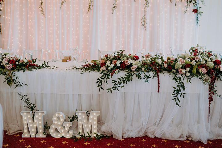 Tutu sukna na hlavný stol prenájom - Obrázok č. 1