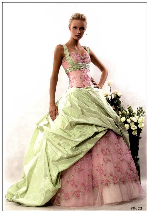 Svatební šaty - růžové i červené až do bordó - Obrázek č. 514