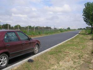 fungl nová asfaltka - konečne!!! :)