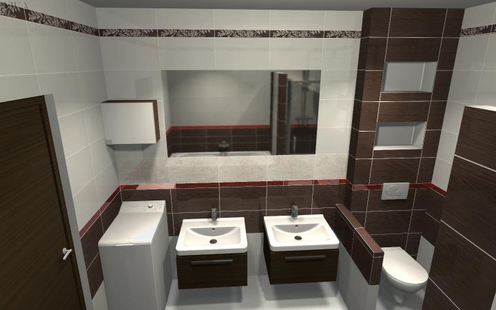 Kúpeľňa - návrhy - a toto je konečná verzia kúpeľne