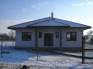 V sobotu (27.11.) sa osadili okná a počas nedeľnej noci prišiel prvý sneh.