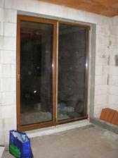 naše vysnívané okno na terasu