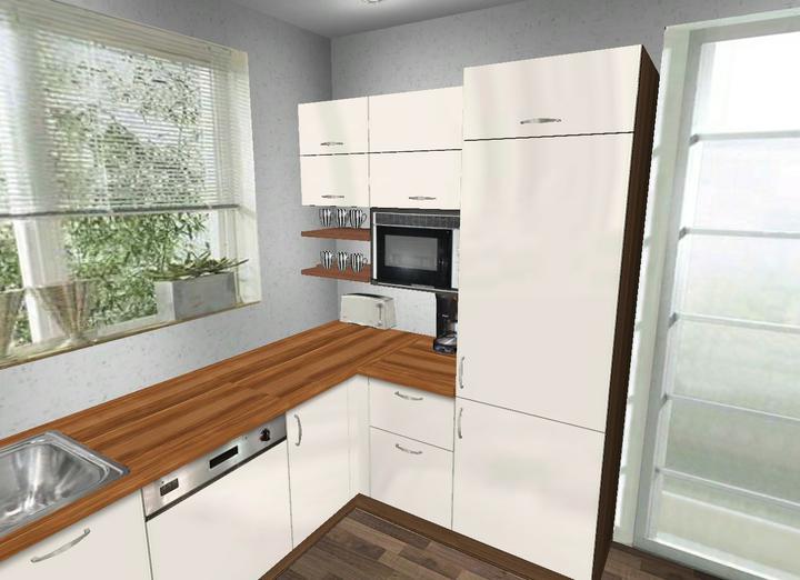 Kuchyňa - poraďte pls. - medzi mikrovlnkou a vrchom prac.dosky je asi 35cm.