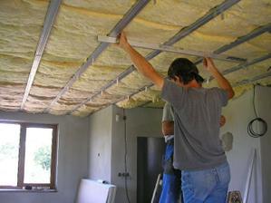 a začali sme aj so stropmi - z SDK