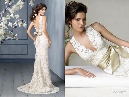 Lace Wedding Decorations & Details - Obrázok č. 75