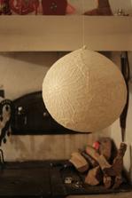 nalepit na nafouklý balon, která po uschnutí vypustit ...