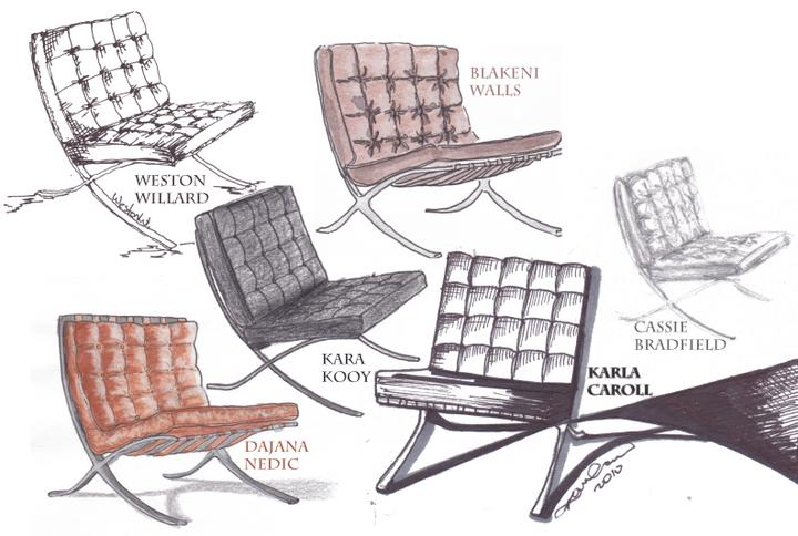 Barcelona chair, a další designová křesílka - Obrázek č. 12