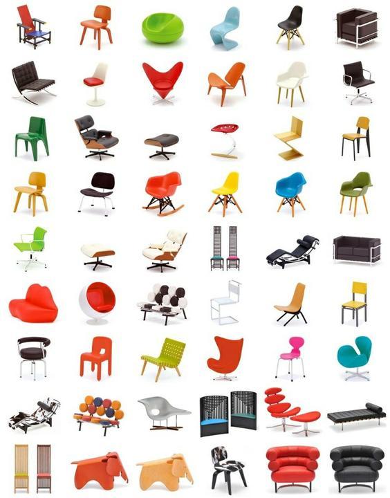 Barcelona chair, a další designová křesílka - Obrázek č. 57