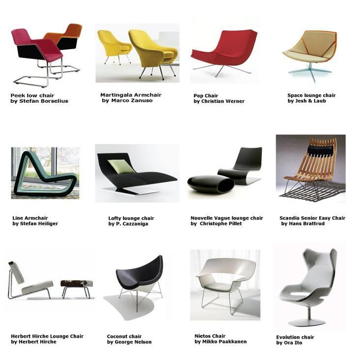 Barcelona chair, a další designová křesílka - Obrázek č. 62