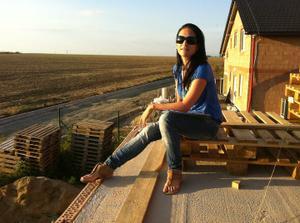 na terase....tady budu žít!!!!:-)