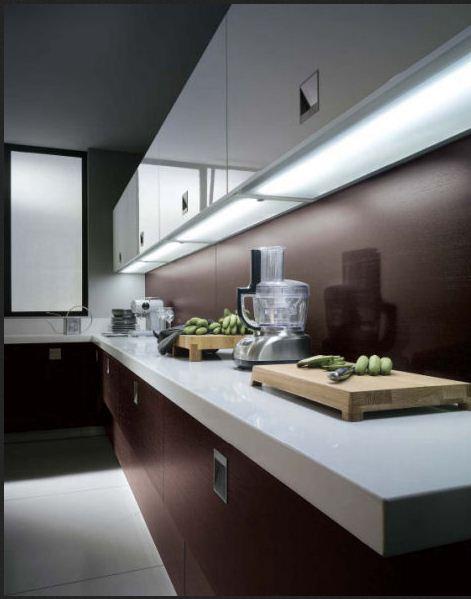 Inspiracie kuchyna - Toto podsvietenie sa mi tiez paci, tam isto bude dost svetla. :)