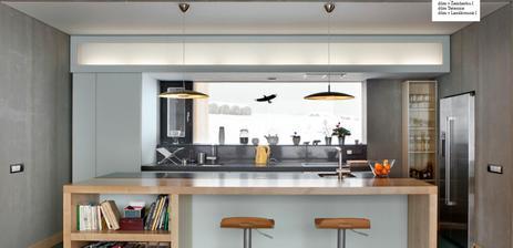 Uzasne krasna kuchyna, planujeme taku podobnu, akurat bude mat asi aj bocnu stenu plnu skriniek.. :))