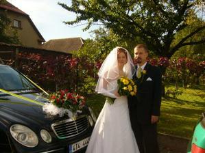 u svatebního auta