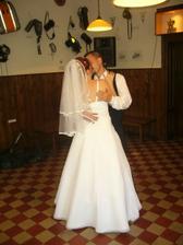 náš první manželský tanec