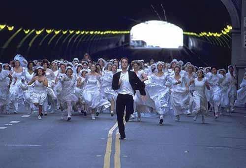 Foto inšpirácie - ...tak to bude dlhá svadobná noc...