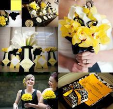 Žlatá a čierna