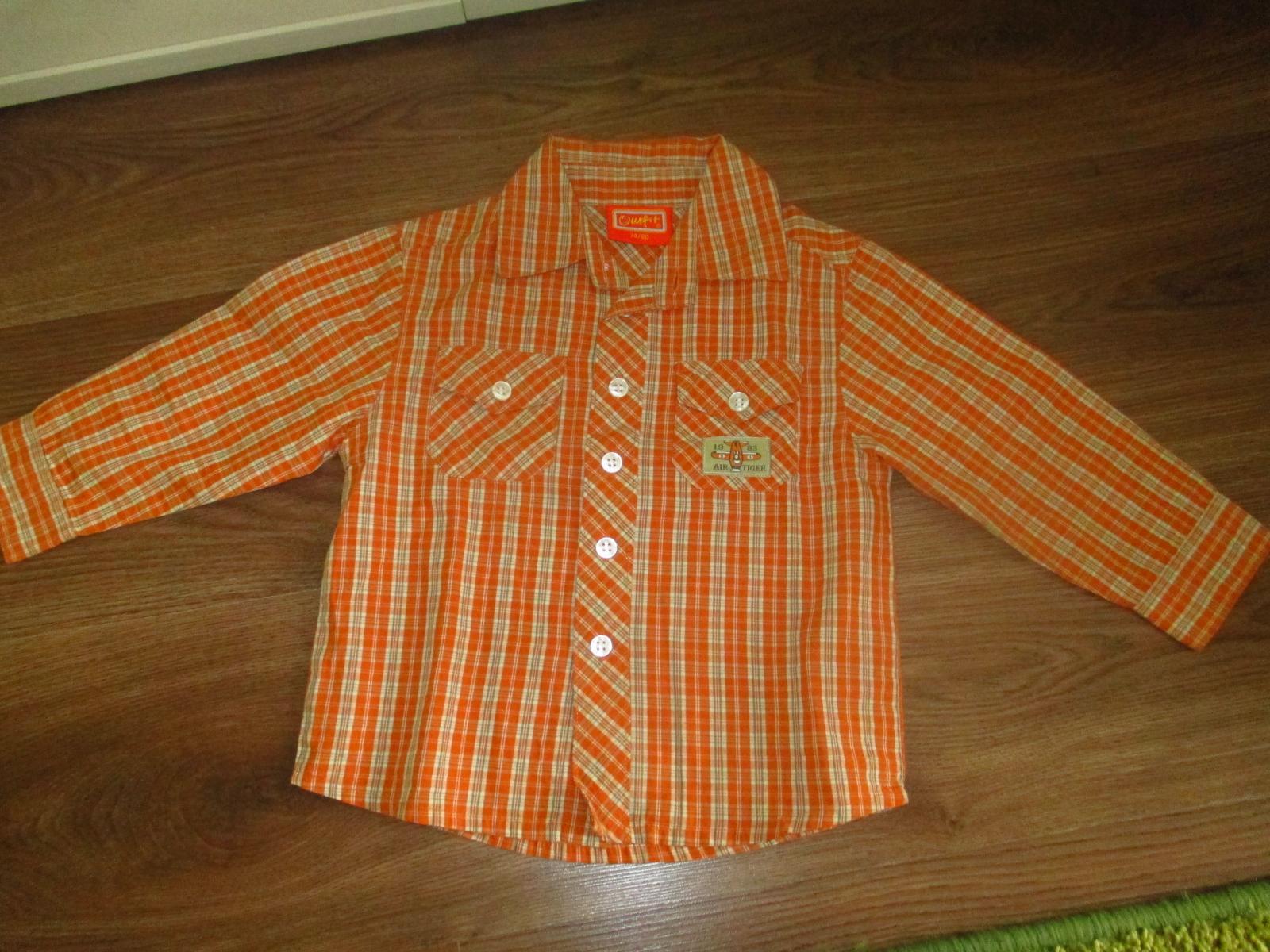 chlapcenská košeľa - Obrázok č. 1
