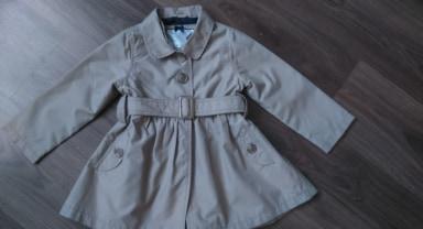 Kabátik pre malú parádnicu - Obrázok č. 1